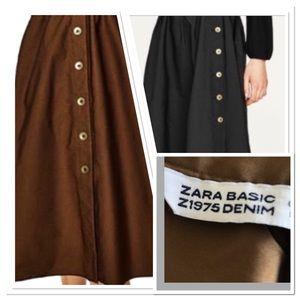 {ZARA Basic Z1975 Denim} Reversible Skirt